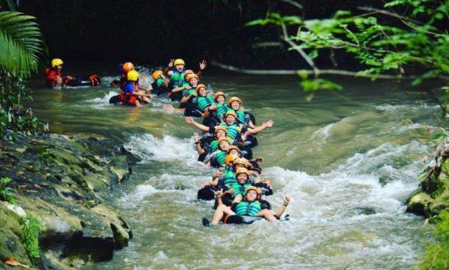 Destinasi River Tubing Sedayu