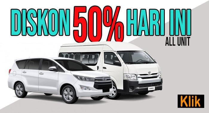 Rental Mobil Jogja Hari ini
